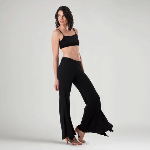 sense clothing, iwantsense dance pant in black
