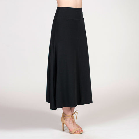 the a-line long skirt