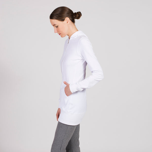 long zipper jacket - I Want Sense, Sense Clothing, Sense Active Spa Travel Wear for Women, Senseclothing.com
