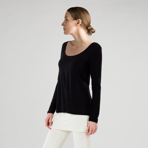 essential swing l/s - I Want Sense, Sense Clothing, Sense Active Spa Travel Wear for Women, Senseclothing.com
