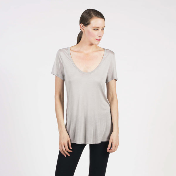 micro modal drape tee - I Want Sense, Sense Clothing, Sense Active Spa Travel Wear for Women, Senseclothing.com