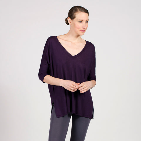 oversize v-neck - I Want Sense, Sense Clothing, Sense Active Spa Travel Wear for Women, Senseclothing.com