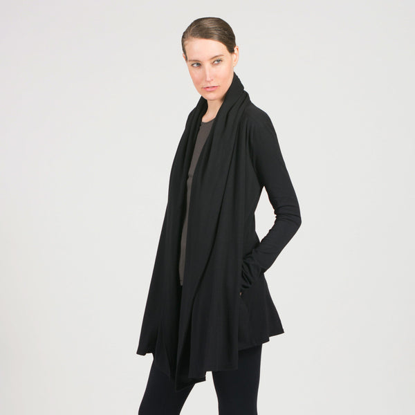 shawl jacket - I Want Sense, Sense Clothing, Sense Active Spa Travel Wear for Women, Senseclothing.com