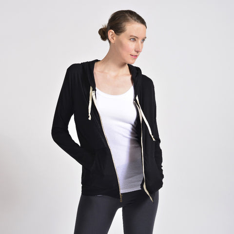 summer jersey zip jacket - I Want Sense, Sense Clothing, Sense Active Spa Travel Wear for Women, Senseclothing.com
