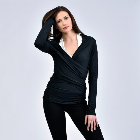 long sleeve versatile wrap