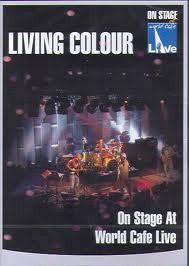 LIVING COLOUR-ON STAGE AT WORLD CAFE LIVE DVD *NEW*