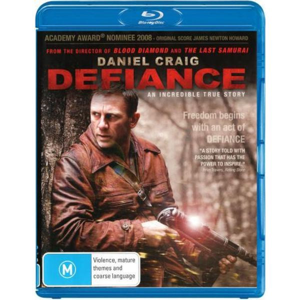 DEFIANCE BLURAY VG+