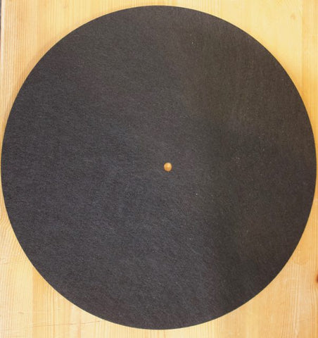 BLACK FELT SLIPMAT MAT *NEW*
