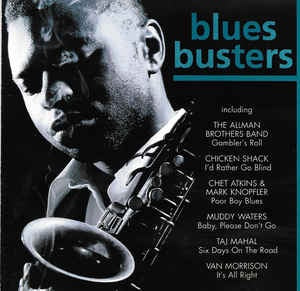 BLUES BUSTERS-VARIOUS CD VG