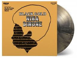 SIMONE NINA-BLACK GOLD MARBLED VINYL LP *NEW*