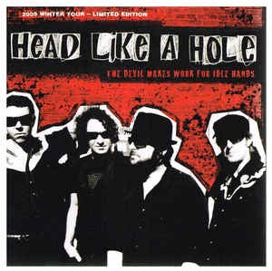 HEAD LIKE A HOLE-THE DEVIL MAKES WORK FOR IDLE HANDS CD VG