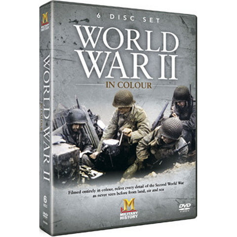 WORLD WAR II IN COLOUR 6DVD G