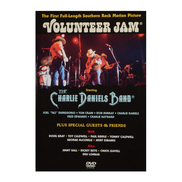 DANIELS CHARLIE BAND-VOLUNTEER JAM DVD G