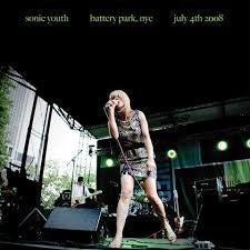 SONIC YOUTH-BATTERY PARK, NYC JULY 4TH 2008 LP *NEW*