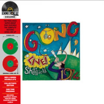 GONG-LIVE! AT SHEFFIELD 1974 GREEN/RED VINYL 2LP *NEW*