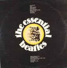 BEATLES THE-THE ESSENTIAL BEATLES LP VG+ COVER VG