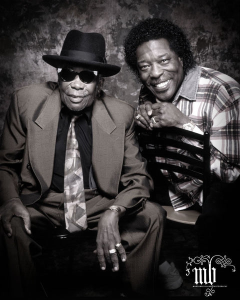 HOOKER JOHN LEE & BUDDY GUY - LIMITED EDITION MARYANNE BILHAM PHOTOGRAPHIC PRINT *NEW*