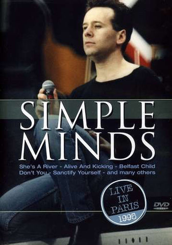 SIMPLE MINDS-LIVE IN PARIS 1995 DVD VG