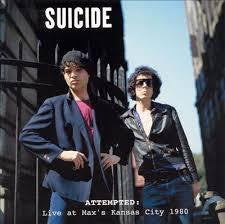 SUICIDE-ATTEMPTED: LIVE AT MAX'S KANSAS CITY 1980 2LP *NEW*