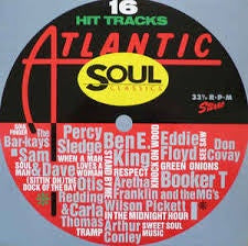 ATLANTIC SOUL CLASSICS-VARIOUS ARTISTS LP VG COVER VG