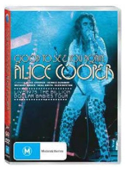 COOPER ALICE-GOOD TO SEE YOU AGAIN DVD VG+