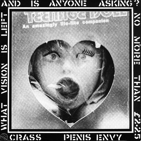 CRASS-PENIS ENVY LP NM COVER EX