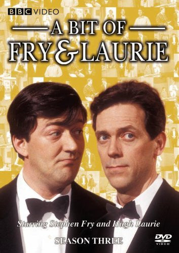 A BIT OF FRY AND LAURIE-SEASON 3 DVD VG
