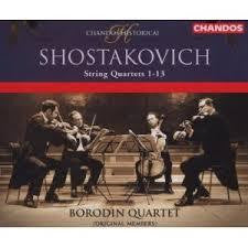 SHOSTAKOVICH-STRING QUARTETS 1-13 BORODIN QUARTET 4CD *NEW*