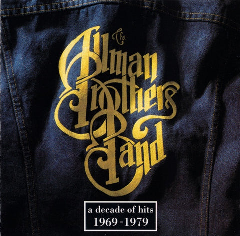 ALLMAN BROTHERS BAND THE-A DECADE OF HITS 1969-1979 CD VG