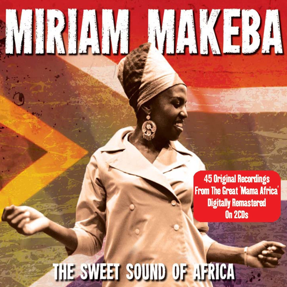 MAKEBA MIRIAM-THE SWEET SOUND OF AFRICA 2CD VG+