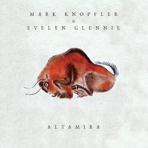 KNOPFLER MARK & EVELYN GLENNIE-ALTAMIRA CD VG