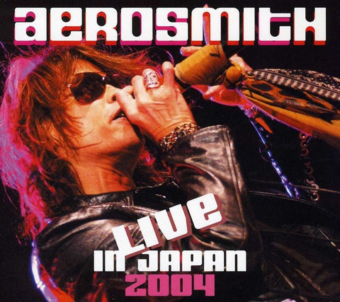 AEROSMITH-LIVE IN JAPAN 2004 DVD VG+