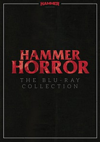 HAMMER HORROR-THE BLU-RAY COLLECTION R16 13 DVD BOX SET VG