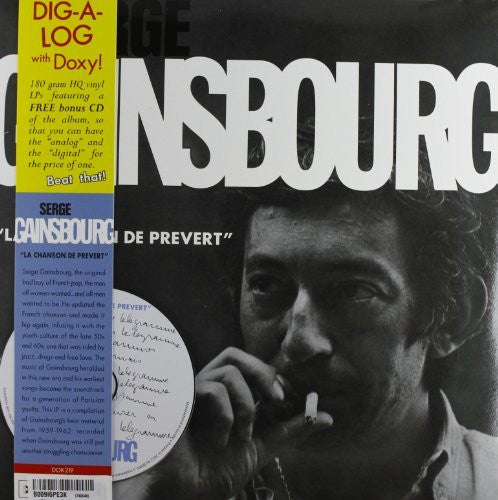 GAINSBOURG SERGE-LA CHANSON DE PREVERT LP *NEW*