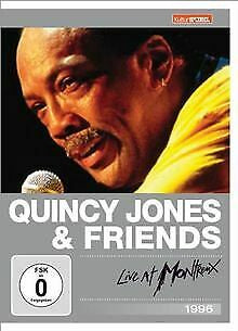 JONES QUINCY & FRIENDS-LIVE AT MONTREUX DVD VG
