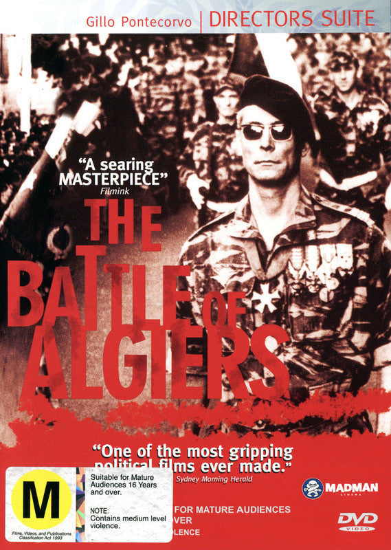 BATTLE OF ALGIERS DVD G