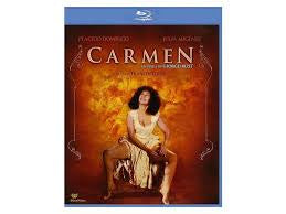 BIZET-CARMEN DOMINGO MIGENES -A FILM BY FRANCESCO ROSI BLURAY VG