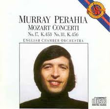 MOZART-CONCERTI PERAHIA MURRAY NO.17 & NO. 18 CD VG