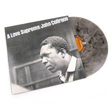 COLTRANE JOHN-A LOVE SUPREME CLEAR/ BLACK SMOKE VINYL LP *NEW*