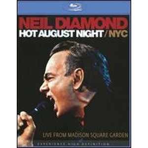 DIAMOND NEIL-HOT AUGUST NIGHT / NYC BLURAY VG