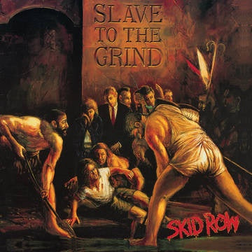 SKID ROW-SLAVE TO THE GRIND RED VINYL 2LP *NEW*