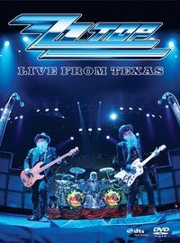 ZZ TOP-LIVE FROM TEXAS DVD VG