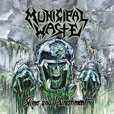 MUNICIPAL WASTE-SLIME & PUNISHMENT CD *NEW*