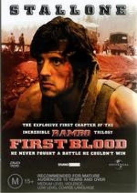 FIRST BLOOD DVD VG