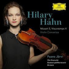 HAHN HILARY-VIOLIN CONCERTOS MOZART 5 VIEUXTEMPS 4 CD *NEW*