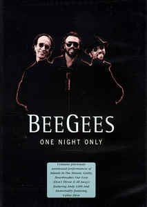 BEE GEES-ONE NIGHT ONLY DVD VG+