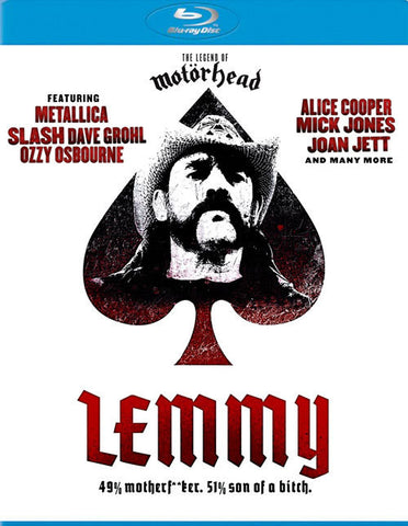 LEMMY BLURAY VG