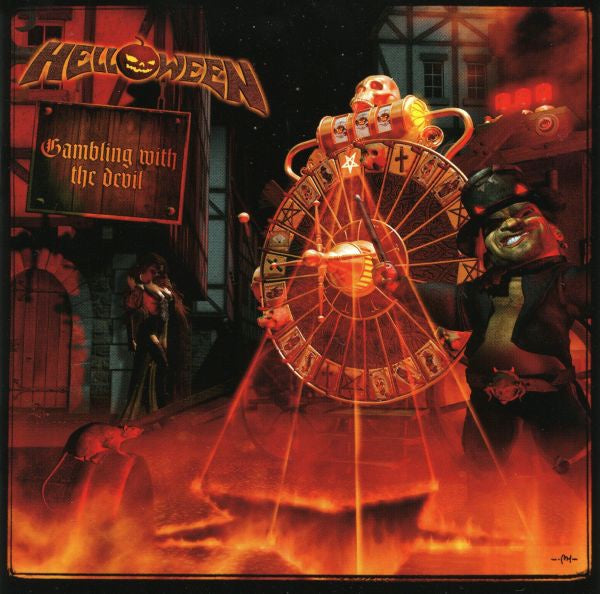 HELLOWEEN-GAMBLING WITH THE DEVIL 2CD VG