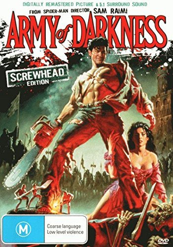 ARMY OF DARKNESS DVD VG