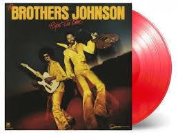 BROTHERS JOHNSON THE-RIGHT ON TIME RED VINYL LP *NEW*